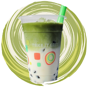 Foto Matcha Milk Tea