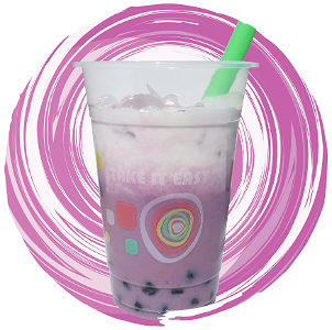 Foto Taro Coconut Tea